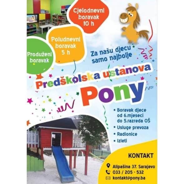 Predskolska ustanova Pony